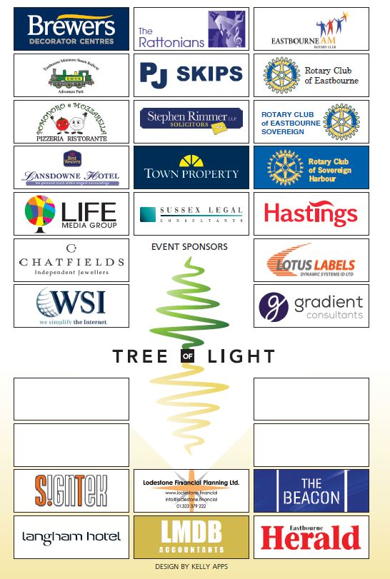 Tree of Light Sponsors 2020